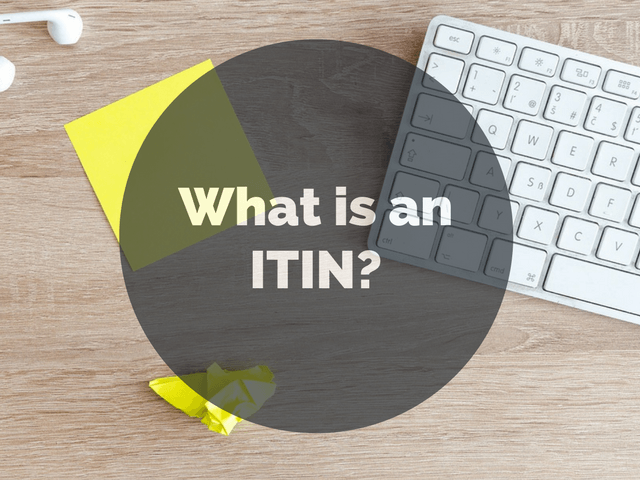 When to use an ITIN for filing taxes.