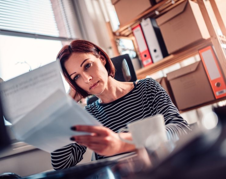 Woman worried about submitting IRS form 9465 for repayment plan